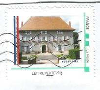 Timbre Offert Par La Poste Aux Mairies Ayant Participées Au Concours Photos Mairie De France Mairie De Vougy