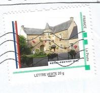 Timbre Offert Par La Poste Aux Mairies Ayant Participées Au Concours Photos Mairie De France Mairie De Noyal-Pontivy