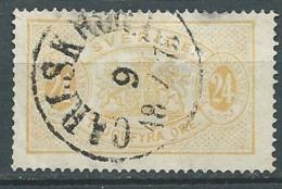 Suede Service     - Yvert N° 8 B  (    Oblitéré    En 1875   -  Cw22517 - Service
