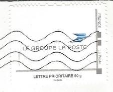 Timbre Personnalisé Collector Oblitéré Sur Lettre Le Groupe La Poste 50g