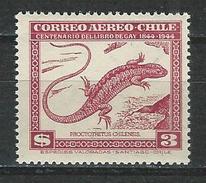 Chile, Mi 427 ** MNH Liolaemus Chilensis
