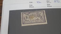 LOT 342949 TIMBRE DE FRANCE OBLITERE N°122