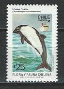 Chile, Mi 1195 ** MNH Cephalorhynchus Commersinii
