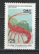 Chile, Mi 1197 ** MNH Jasus Frontalis