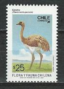 Chile, Mi 1202 ** MNH Pterocnemia Pennata