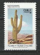 Chile, Mi 1204 ** MNH Cereus Atacamensis
