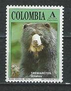 Kolumbien Mi 1859 ** MNH Tremarctos Ornatus