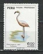 Peru Mi 928 ** MNH Phoenicopterus Ruber