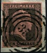 Preußen Nummernstempel 359 Düsseldorf Auf Michel 2, Briefstück (1-196) - Preussen
