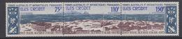 TAAF 1974 Iles Crozet / Base Alfred Faure Strip 3v (unfolded) ** Mnhg (34827) - Franse Zuidelijke En Antarctische Gebieden (TAAF)