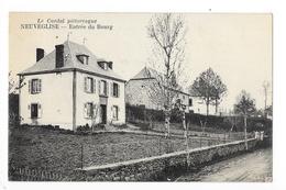 NEUVEGLISE  (cpa 15)  Entrée Du Bourg -    - L 1 - Autres Communes
