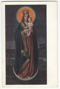 Mary With Jesus Old Postcard Travelled 1913 From Dornegg In Krain (Trnovo) B170210 - Virgen Mary & Madonnas
