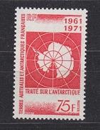TAAF 1971 Antarctic Treaty 1v  ** Mnh (34827D) - Franse Zuidelijke En Antarctische Gebieden (TAAF)