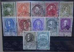 BELGIE   1952    Nr. 880 -  891   UPU     Gestempeld     CW  190,00