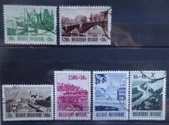 BELGIE   1953    Nr. 918 - 923        Gestempeld     CW  43,00