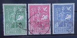 BELGIE   1953    Nr. 927 - 929       Gestempeld     CW  45,00