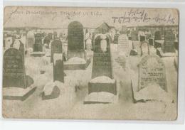 Belarus - Lida - Cimetière Juif Israelitisher Friedhof 1916 Cachet Kompagnie Infanterie 342 Ed Georg Stilke Berlin Jude - Belarus