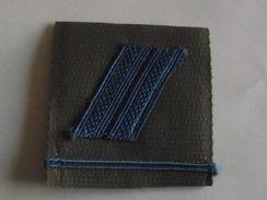 Grade Velcro Grade Brigadier Vsl Matériel Armée De Terre - Uniforms