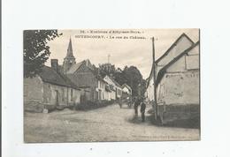 GUYENCOURT(SUR NOYE) 76 ENVIRONS D'AILLY SUR NOYE LA RUE DU CHATEAU 1915 - France