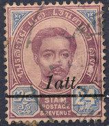 Stamp  THAILAND,SIAM 1907 Scott#109 Lot#84 - Timbres