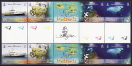 Pitcairn 809-812   2 X Complete.issue With Vignette  Unmounted Mint / Never Hinged 2010 Hotspots - Pitcairn Islands