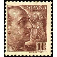 ES878STV-LTV***878STAN.Spain.Esgane .Militar,politico.FRANCO Sanchez Toda.Dentado Grueso.1939.(Ed 878**) - 1931-Hoy: 2ª República - ... Juan Carlos I