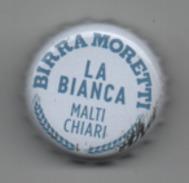 Tappo A Corona Birra Moretti La Bianca - Brau Piwo Biere Bier Cerveza Beer Kronkorken Crown Cap Capsule - Birra