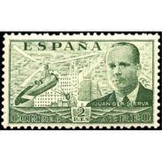 ES885STV-LTV***885STAN.Spain.Esgane .HELICOPTERO,Autogiro.Ingeniero JUAN DE LA CIERVA.1939.(Ed 885**) - 1931-50 Nuevos & Fijasellos