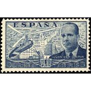 ES886STV-LTV***886STAN.Spain.Esgane .HELICOPTERO,Autogiro.Ingeniero JUAN DE LA CIERVA.1939.(Ed 886**) - 1931-Hoy: 2ª República - ... Juan Carlos I