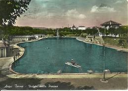 Acqui Terme (Alessandria, Piemonte) Veduta Della Grande Piscina - Alessandria