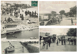 BON LOT DE 71 CARTES DE PALAVAS LES FLOTS APRES 1900 DONT PETIT TRAIN TOUTES DATEES - Palavas Les Flots