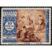 ES902STV-LTV***902STAN.Spain.Esgane .RELIGION.VENIDA DE LA VIRGEN DE EL PILAR De ZARAGOZA.1940.(Ed 902**) - 1931-Hoy: 2ª República - ... Juan Carlos I