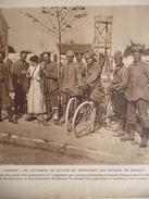 Soldats Allemands Fait Prisonniers 7 Septembre Par Des Hussards Et Dragons Français , A Neufmoutiers Prés De Meaux 1914 - Documents Historiques