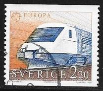 N° 1298  EUROPA SUISSE - OBLITERE  - 1988 - Gebraucht