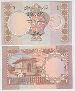 Pakistan 1 Rupies 1981 Pick 25 UNC - Pakistán