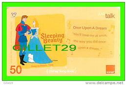 TÉLÉCARTES THAILAND - DISNEY, SLEEPING BEAUTY - FILM, CINÉMA - 50 BAHT - 06/2007 - PHONECARDS - - Disney