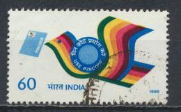 °°° INDIA - Y&T N°1037 - 1989 °°° - Used Stamps
