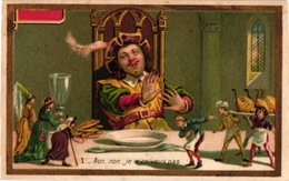 6 Cards C1892 Gargantua Fairy Tale  Conte De Fées Liebig Alike - Chromos