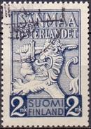 Finland 1940 Vaderland GB-USED