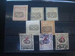 Postzegels Iran Gestempeld
