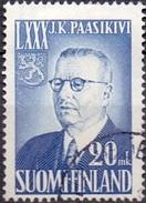 Finland 1950 Pres Paasikivi GB-USED