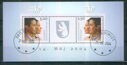 Mariage Du Couple Princier Danois - GROENLAND - Emission Commune - BF N° 29 - 2004 - Groenland