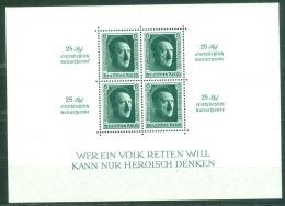 Deutsches Reich Block 11 *