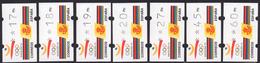 España 1992. ATM Barcelona 92 Olimpiadas. 4 Digitos Con Numero. Klussendorf. MNH. **. - Marcophilie - EMA (Empreintes Machines)
