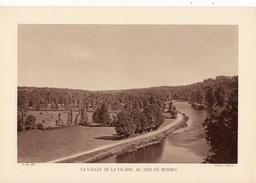 ILLE ET VILAINE, LA VALLEE DE LA VILAINE AU SUD DE RENNES, Planche Densité = 200g, Format 20 X 29 Cm, (A. Briquet) - Géographie