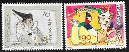 N°  1719 / 1720     EUROPA SUISSE - OBLITERE  - 2002 - Gebraucht