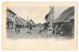 Cpa: BOSNIE - ZENICA  Carsija - Ringplatz  1906