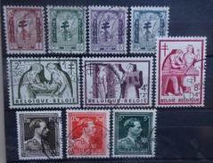 BELGIE   1956    Nr. 998 - 1004 / 1005 - 1007      Gestempeld     CW 22,50