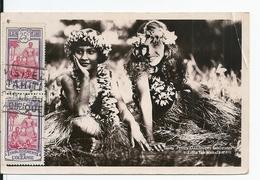 Polynésie Française,Océanie,Tahiti,Petites Danseuses Tahitiennes