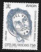 N°  1037     EUROPA VATICAN -   OBLITERE  - 1996 - Vatican